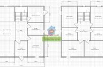 Проект дома из СИП панелей Клин - МосСипСтрой (изображение 1)