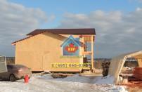 Проект дома из СИП панелей Дом-гостиница - МосСипСтрой (изображение 25)