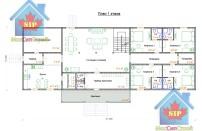 Проект дома из СИП панелей Дом-гостиница - МосСипСтрой (изображение 1)