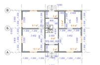 Проект дома из СИП панелей Мичуринец - МосСипСтрой (изображение 1)