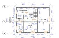 Проект дома из СИП панелей Щитниково - МосСипСтрой (изображение 1)