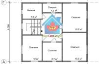 Проект дома из СИП панелей Браво - МосСипСтрой (изображение 2)