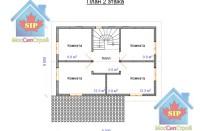 Проект дома из СИП панелей Винёво - МосСипСтрой (изображение 2)
