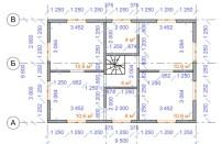 Проект дома из СИП панелей Мичуринец - МосСипСтрой (изображение 2)
