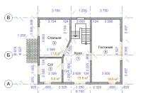 Проект дома из СИП панелей Щитниково - МосСипСтрой (изображение 2)