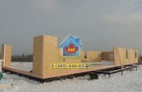 Проект дома из СИП панелей Дом-гостиница - МосСипСтрой (изображение 8)