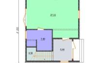 Проект дома из СИП панелей Агнета - МосСипСтрой (изображение 2)