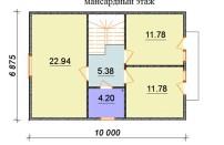Проект дома из СИП панелей Бригита - МосСипСтрой (изображение 3)