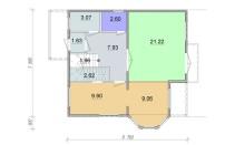 Проект дома из СИП панелей Аманда - МосСипСтрой (изображение 2)