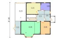 Проект дома из СИП панелей Ева - МосСипСтрой (изображение 2)