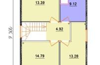 Проект дома из СИП панелей Ева - МосСипСтрой (изображение 3)