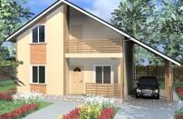Проект дома из СИП панелей Грета - МосСипСтрой (изображение 1)