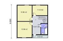 Проект дома из СИП панелей Грета - МосСипСтрой (изображение 3)