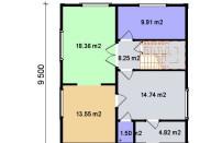 Проект дома из СИП панелей Инга - МосСипСтрой (изображение 2)