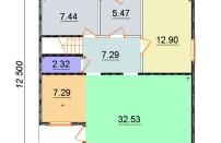 Проект дома из СИП панелей Лайма - МосСипСтрой (изображение 2)