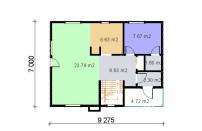 Проект дома из СИП панелей Альма - МосСипСтрой (изображение 2)