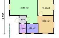 Проект дома из СИП панелей Дария - МосСипСтрой (изображение 2)