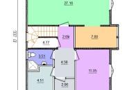 Проект дома из СИП панелей Даллас - МосСипСтрой (изображение 2)
