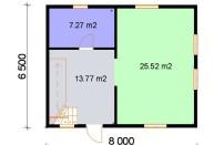 Проект дома из СИП панелей Адомас - МосСипСтрой (изображение 2)
