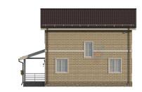 Проект дома из СИП панелей Купавна - МосСипСтрой (изображение 3)