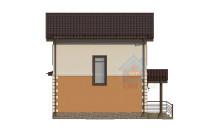 Проект дома из СИП панелей Дания - МосСипСтрой (изображение 7)