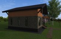 Проект дома из СИП панелей Глория - МосСипСтрой (изображение 3)