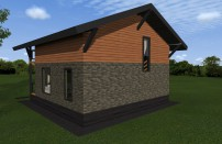 Проект дома из СИП панелей Глория - МосСипСтрой (изображение 4)