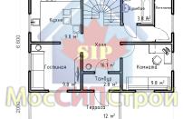 Проект дома из СИП панелей Винево - МосСипСтрой (изображение 2)