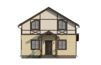 Проект дома из СИП панелей Канцлер - МосСипСтрой (изображение 6)