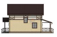 Проект дома из СИП панелей Канцлер - МосСипСтрой (изображение 5)