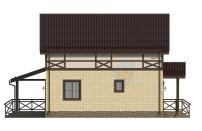 Проект дома из СИП панелей Канцлер - МосСипСтрой (изображение 7)
