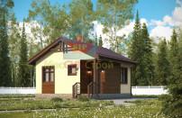 Проект дома из СИП панелей Шарапово - МосСипСтрой (изображение 1)