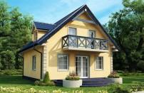 Проект дома из СИП панелей Осенний - МосСипСтрой (изображение 3)