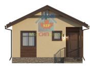 Проект дома из СИП панелей Шарапово - МосСипСтрой (изображение 6)