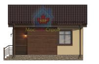 Проект дома из СИП панелей Шарапово - МосСипСтрой (изображение 4)