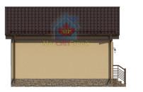 Проект дома из СИП панелей Шарапово - МосСипСтрой (изображение 3)
