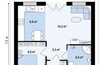 Проект дома из СИП панелей Гудвин - МосСипСтрой (изображение 2)