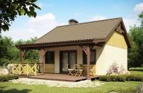Проект дома из СИП панелей Гудвин - МосСипСтрой (изображение 1)