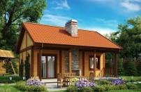 Проект дома из СИП панелей Брайтон - МосСипСтрой (изображение 1)