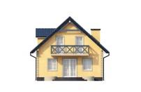 Проект дома из СИП панелей Осенний - МосСипСтрой (изображение 7)