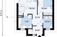 Проект дома из СИП панелей Винсент - МосСипСтрой (изображение 2)