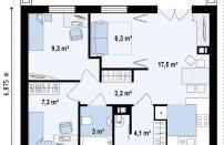 Проект дома из СИП панелей Атлас - МосСипСтрой (изображение 2)