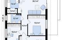 Проект дома из СИП панелей Арон - МосСипСтрой (изображение 2)