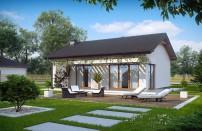 Проект дома из СИП панелей Арон - МосСипСтрой (изображение 1)
