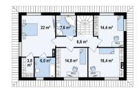 Проект дома из СИП панелей Гораций - МосСипСтрой (изображение 3)