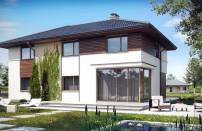 Проект дома из СИП панелей Гораций - МосСипСтрой (изображение 1)