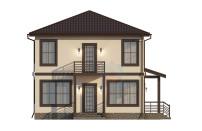 Проект дома из СИП панелей Империя - МосСипСтрой (изображение 4)