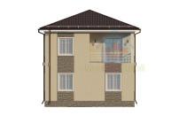 Проект дома из СИП панелей Семейный - МосСипСтрой (изображение 3)