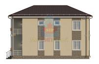 Проект дома из СИП панелей Семейный - МосСипСтрой (изображение 4)