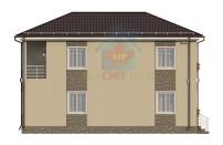 Проект дома из СИП панелей Семейный - МосСипСтрой (изображение 5)